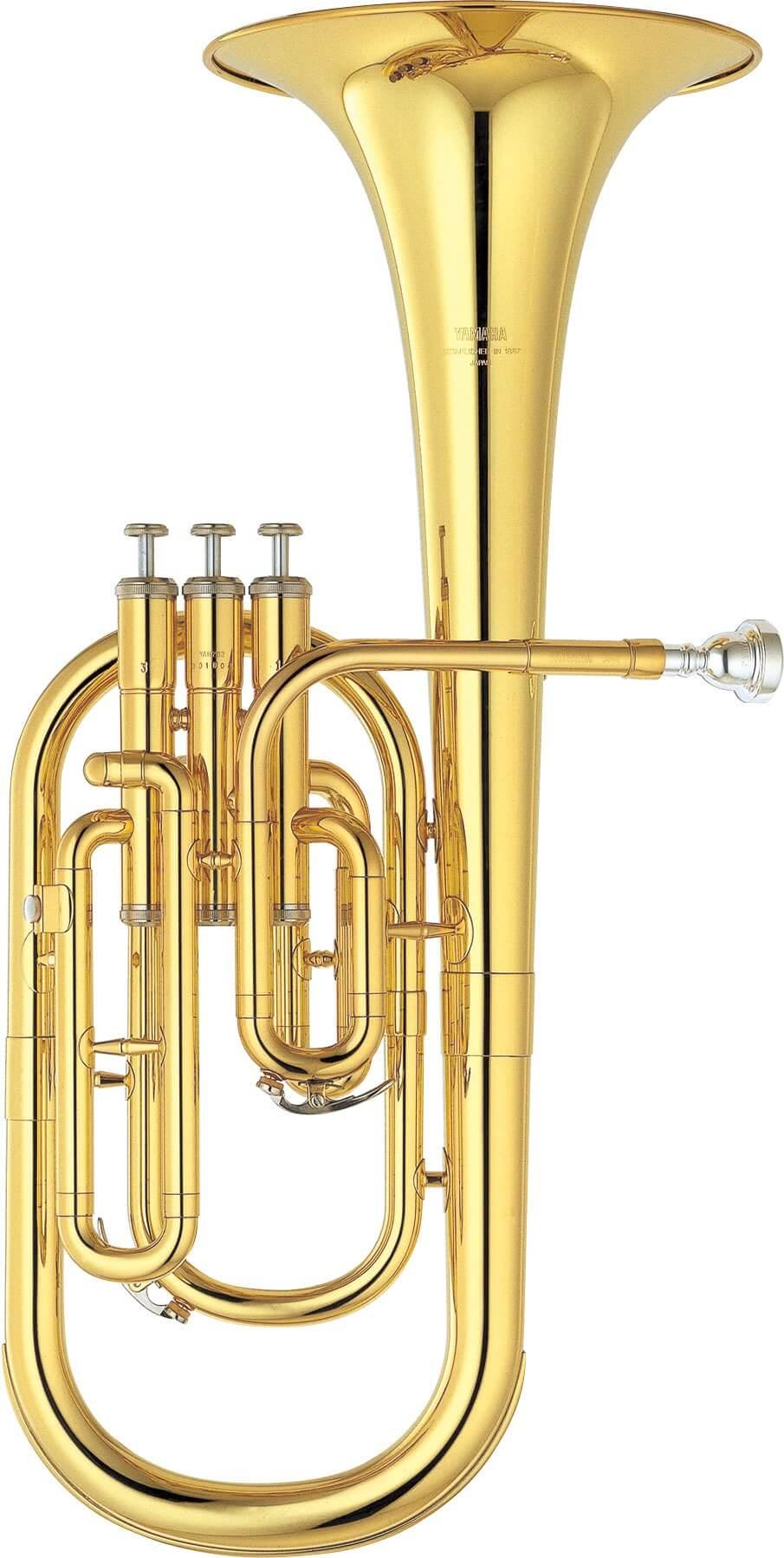 Trompa Alto Yamaha Yah 203 Lacada