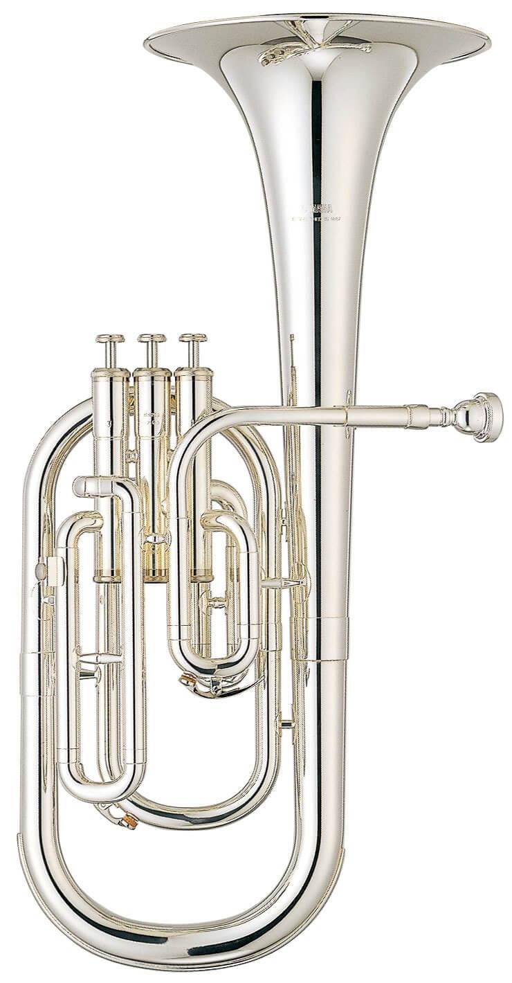 Trompa Alto Yamaha Yah 203S Plateada