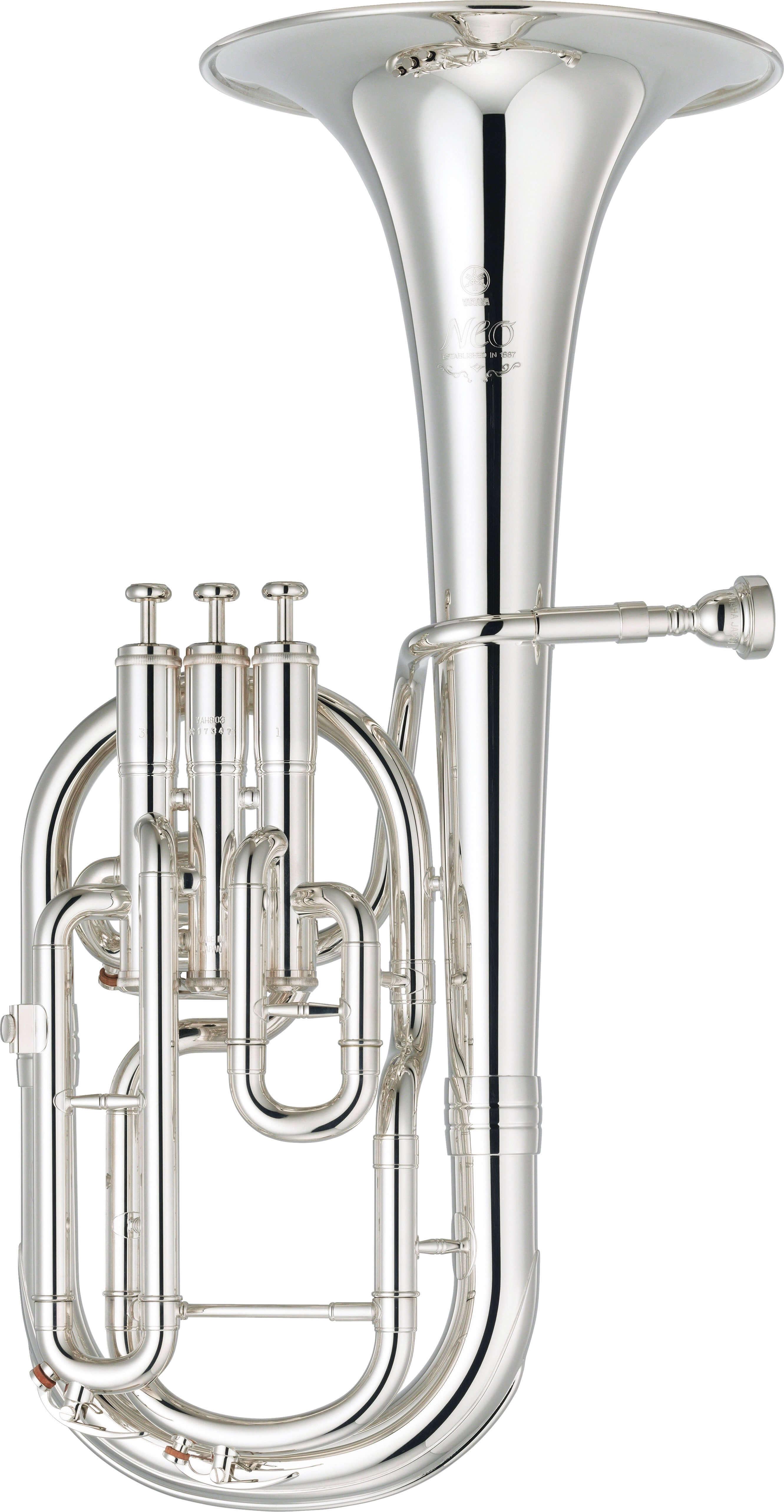 Trompa Alto Yamaha Yah-803S Plateada