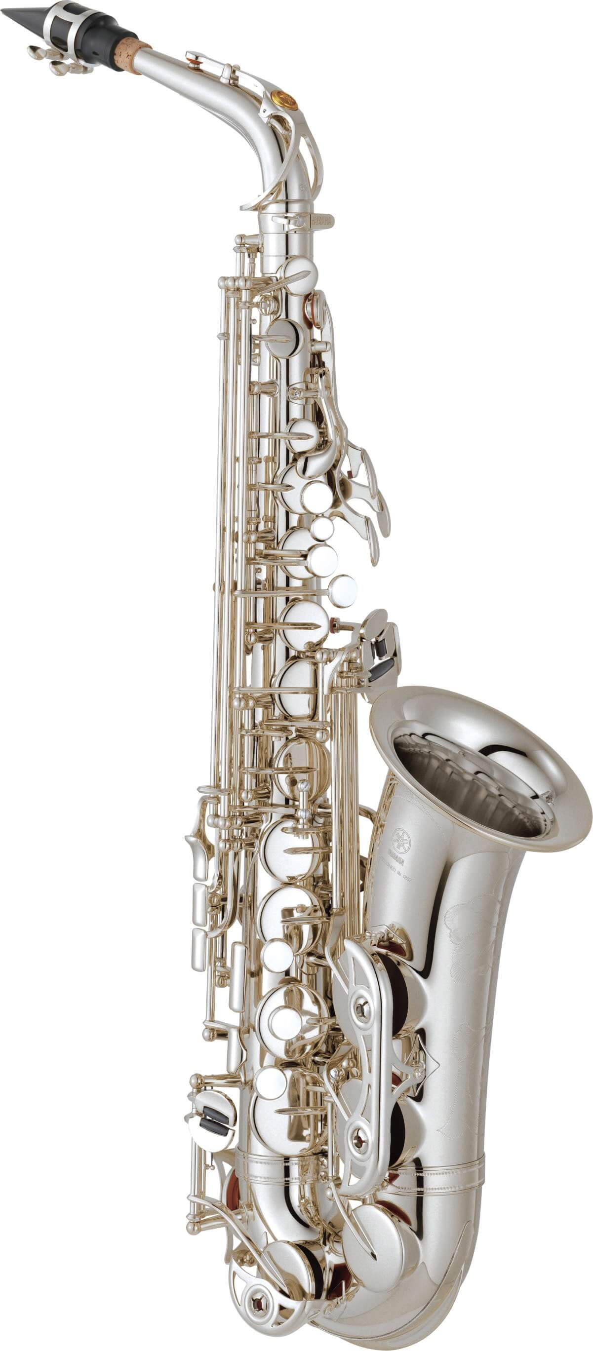 Saxofón Alto Yamaha Yas-62S Plateado