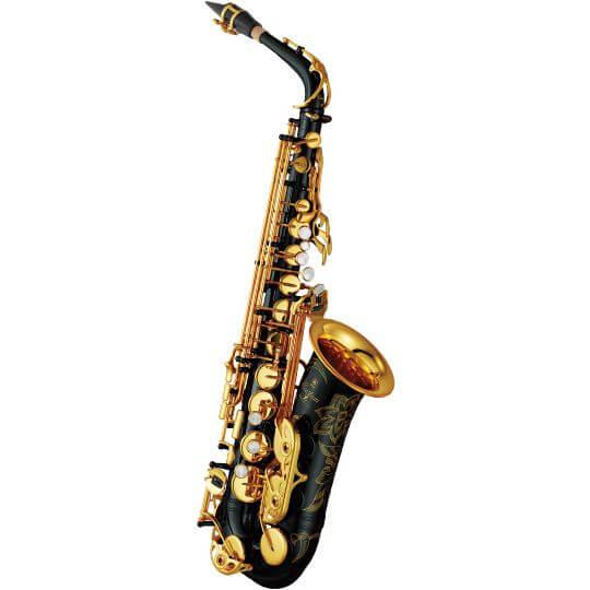 Saxofón Alto Yamaha Yas-82Zb Negro Lacado