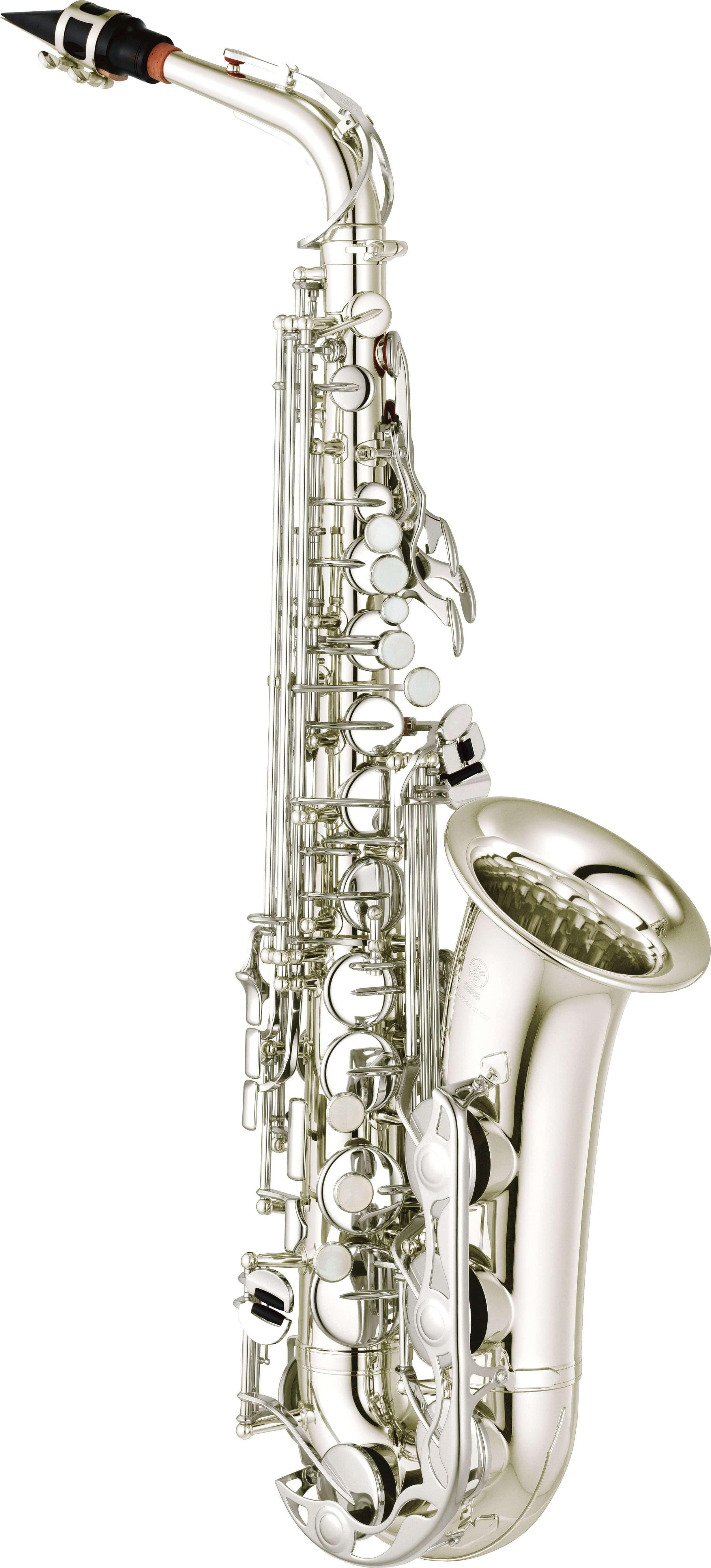 Saxofón Alto Yamaha Yas-280S Plateado