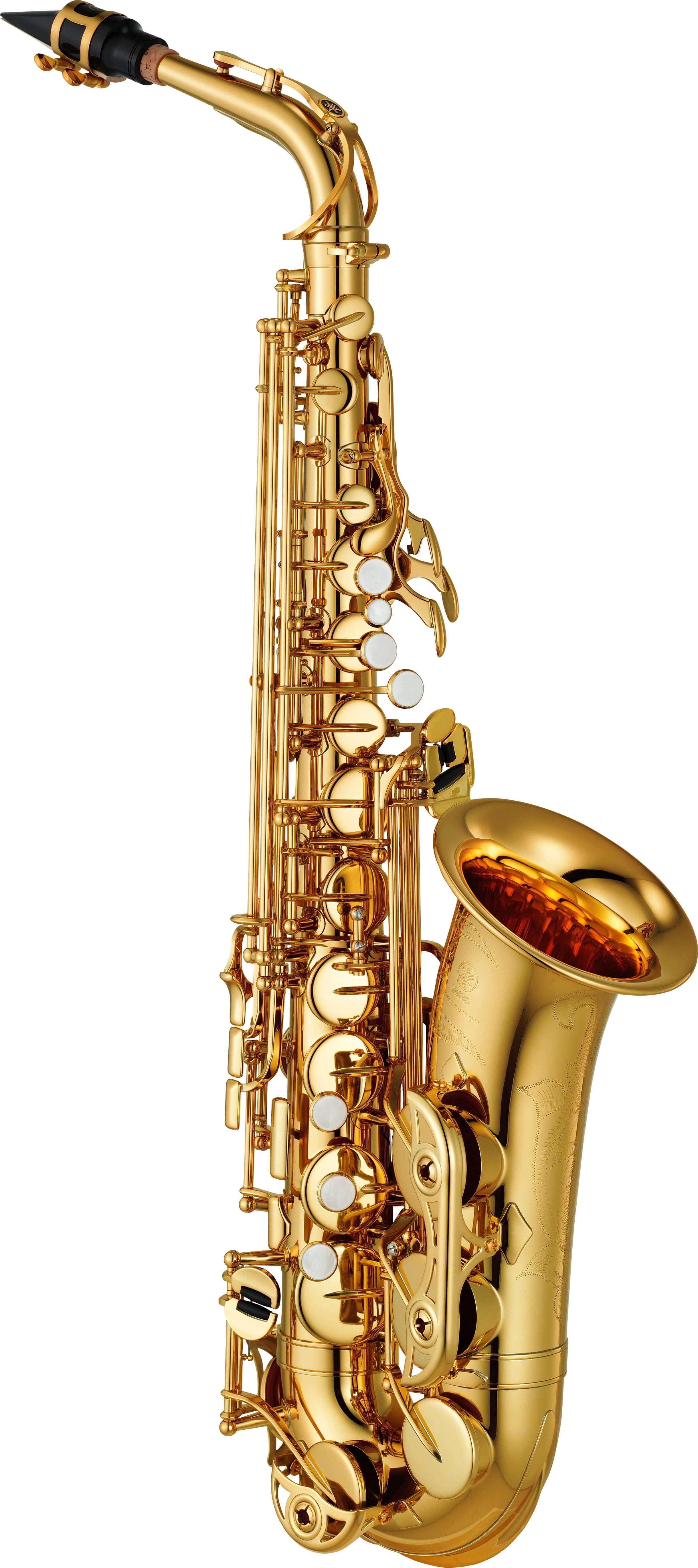 Saxofón Alto Yamaha Yas-480 Lacado