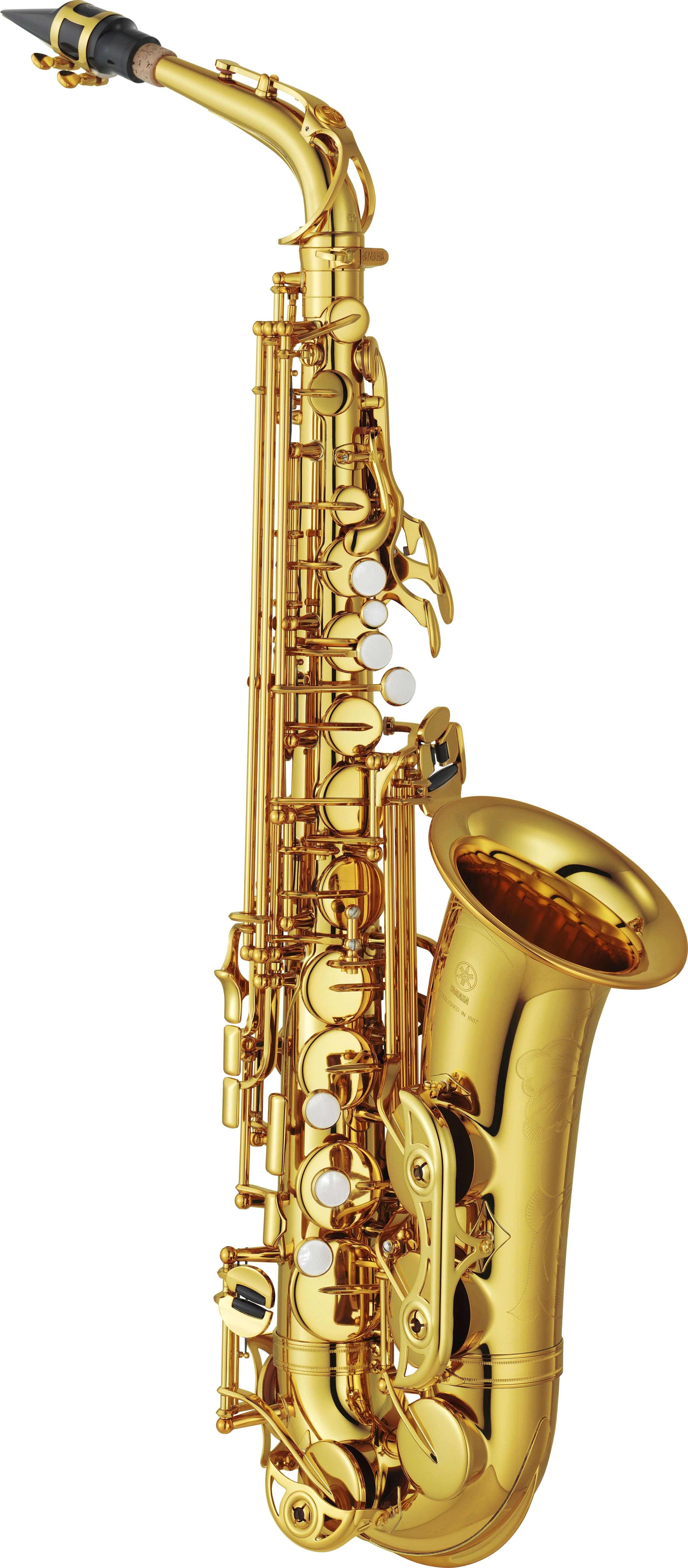 Saxofón Alto Yamaha Yas-62 Lacado