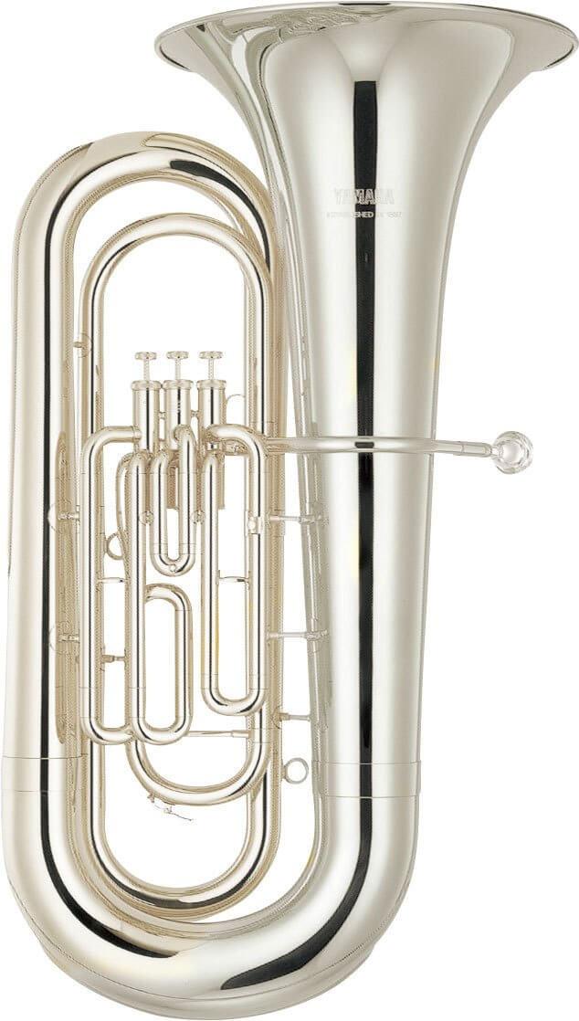 Tuba Yamaha YBB-201S Plateada