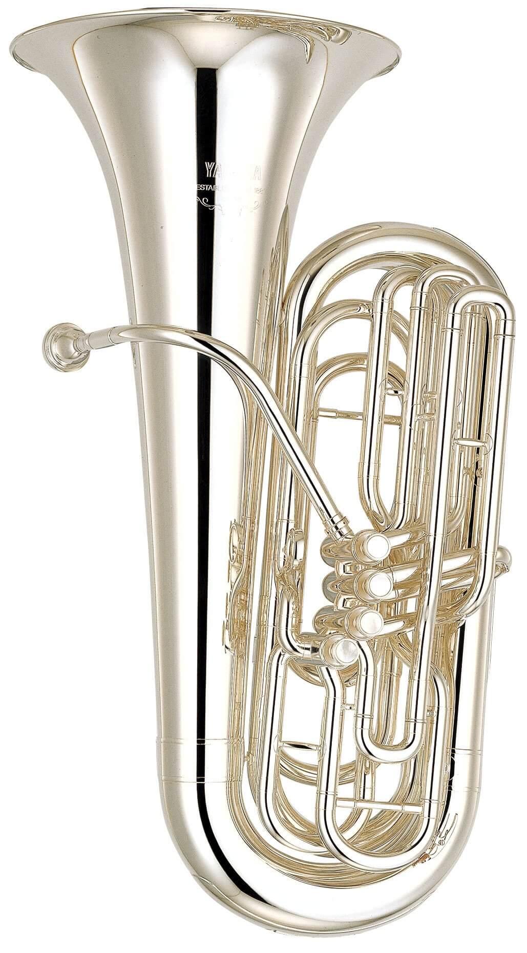 Tuba Yamaha YBB-621S Plateada
