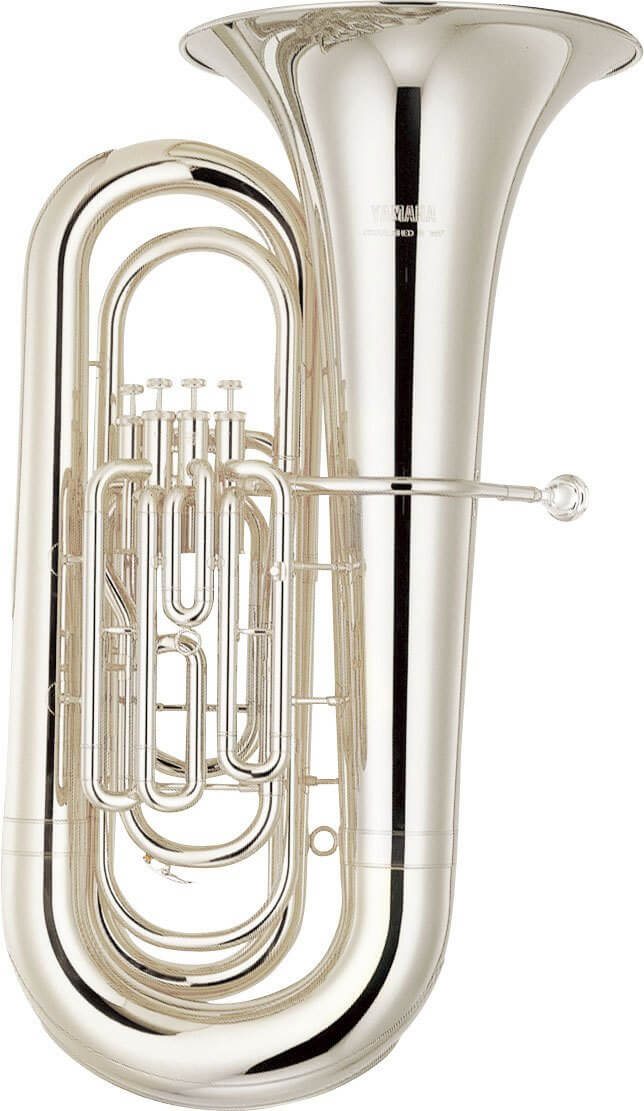 Tuba Yamaha YBB-321S Plateada