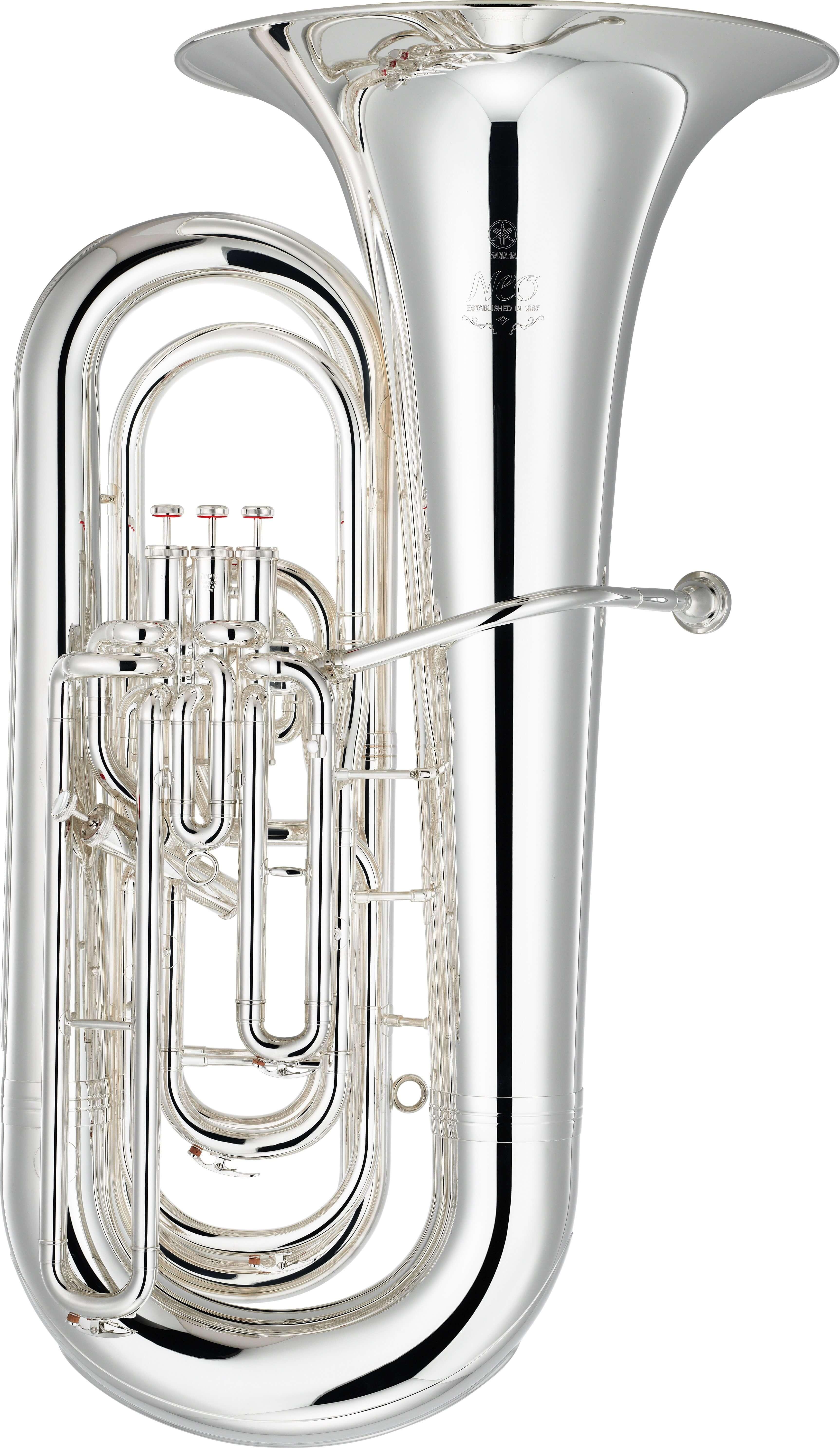 Tuba Yamaha YBB-632S Plateada