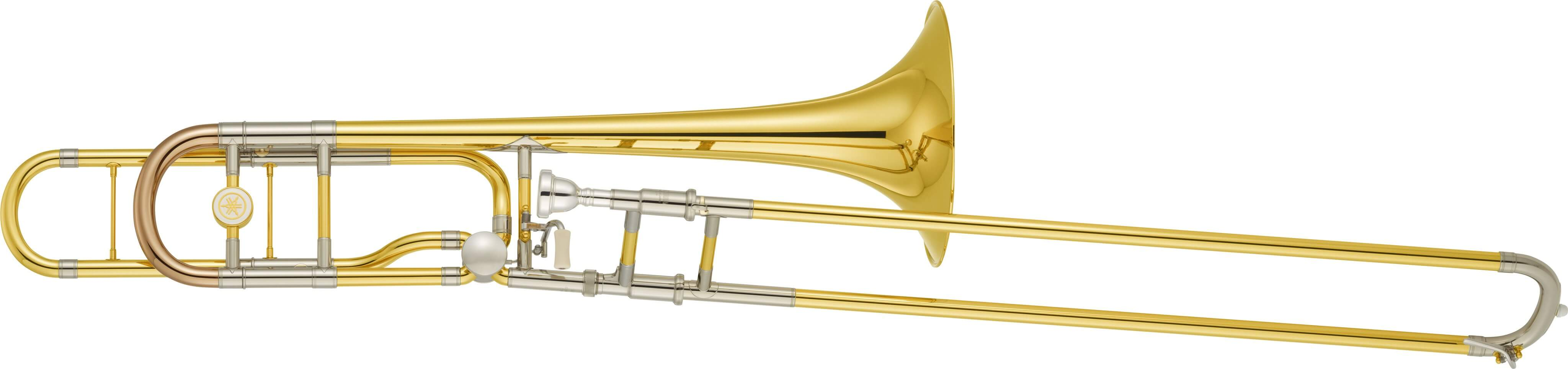Trombón Bajo Yamaha Ybl 620Ge Lacado Oro