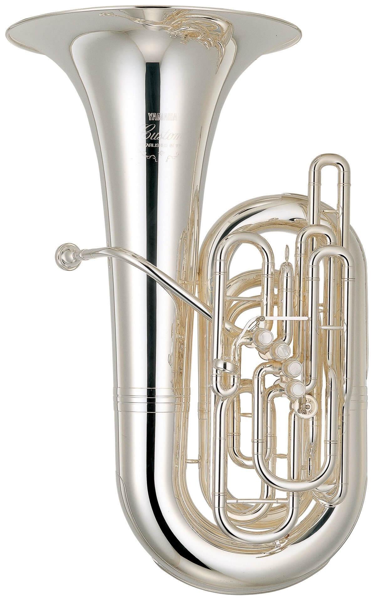 Tuba En Do Yamaha YCB-822S Plateada