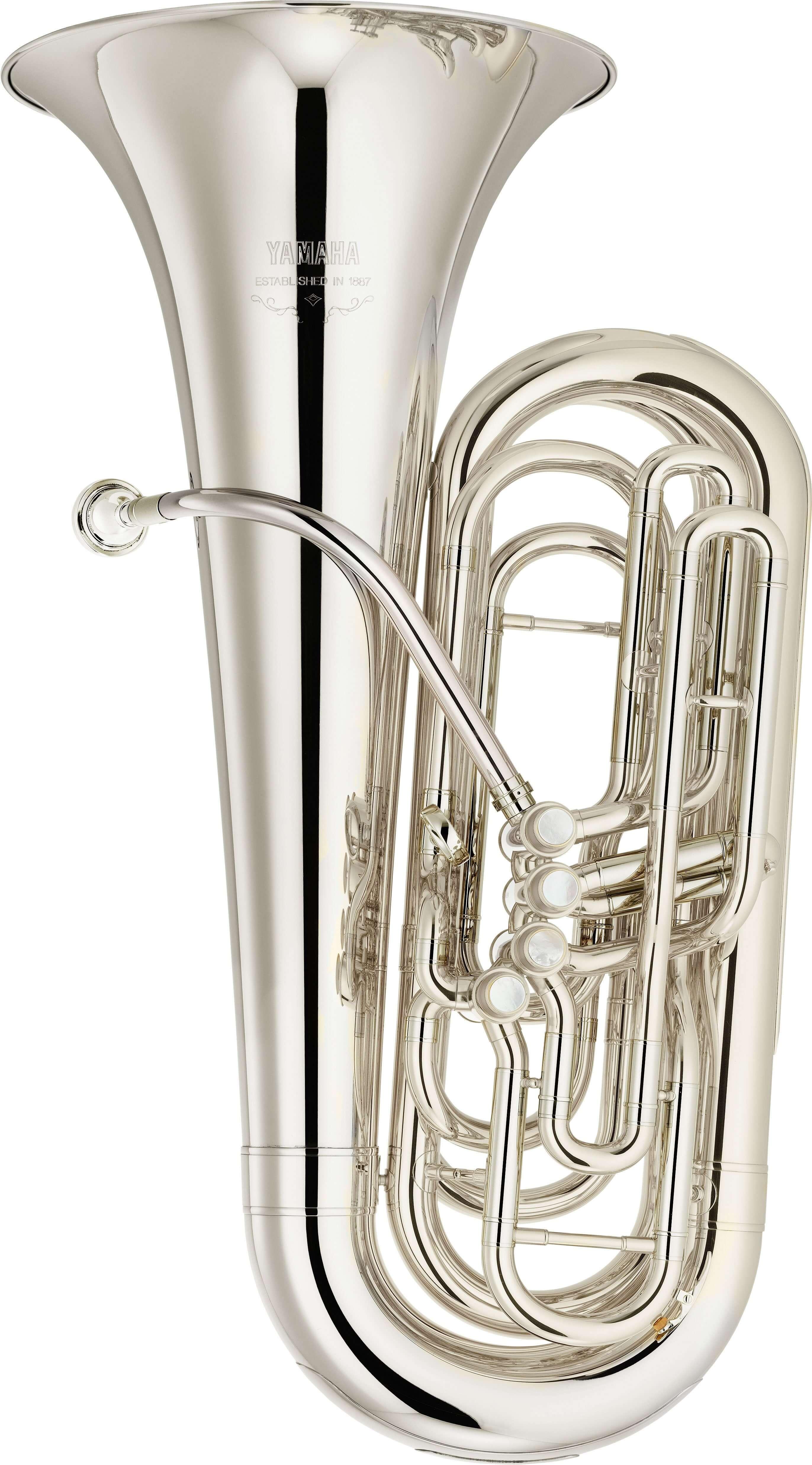 Tuba En Do Yamaha YCB-621S Plateada