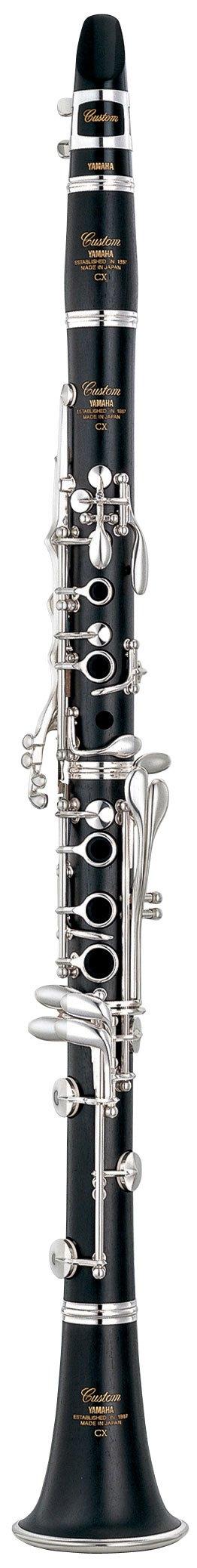 Clarinete En La Yamaha YCL-CX-A