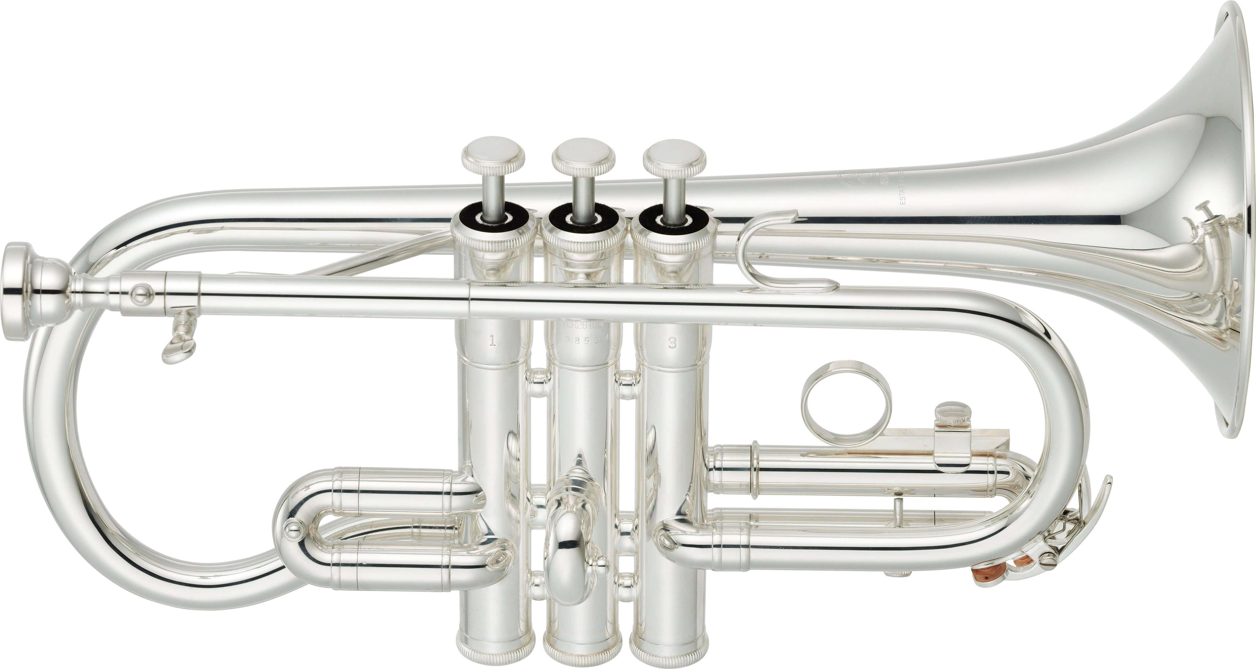 Corneta En Mib Yamaha Ycr-2610SIII Plateada