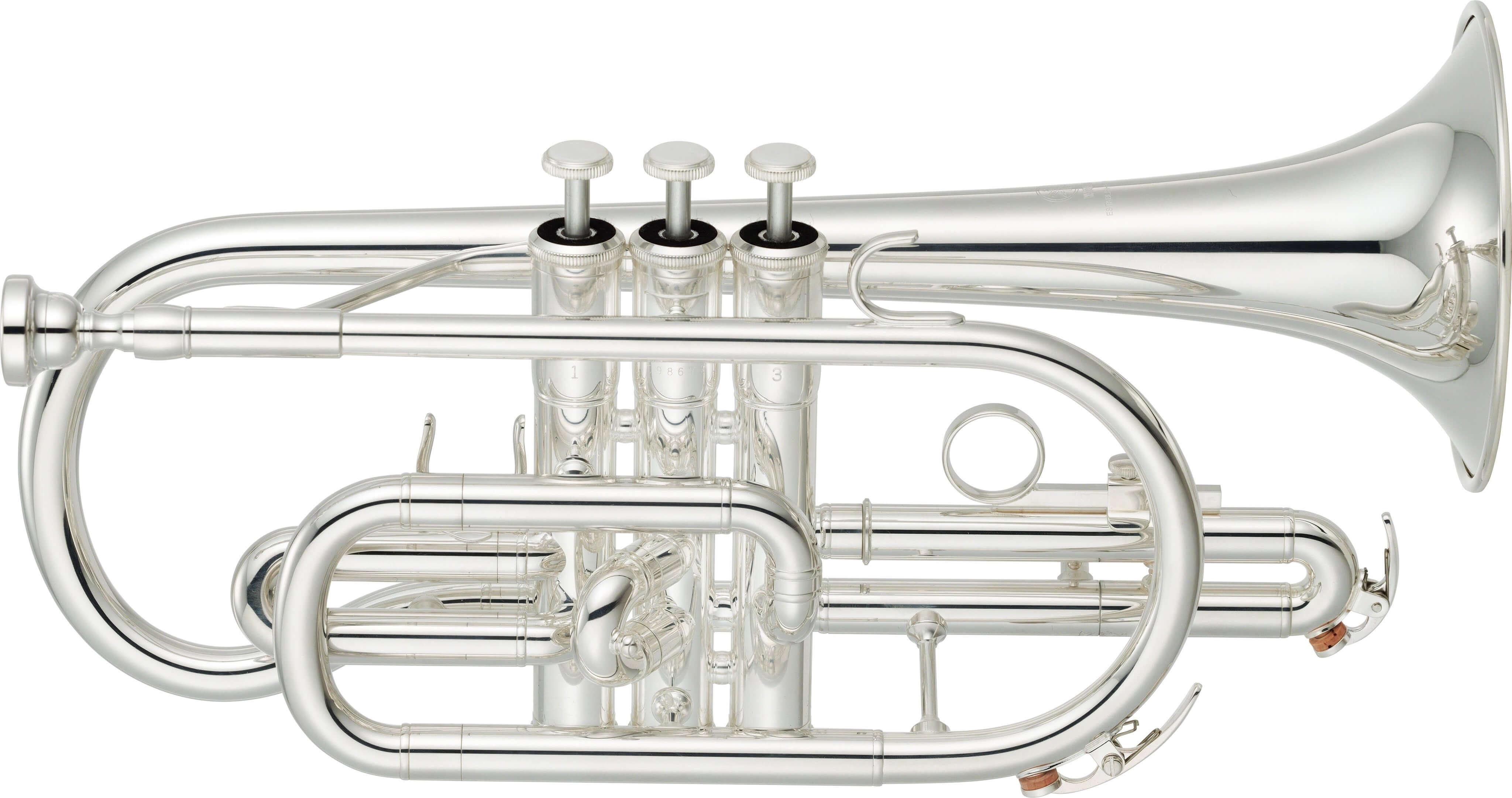Corneta Yamaha Ycr-2330SIII Plateada
