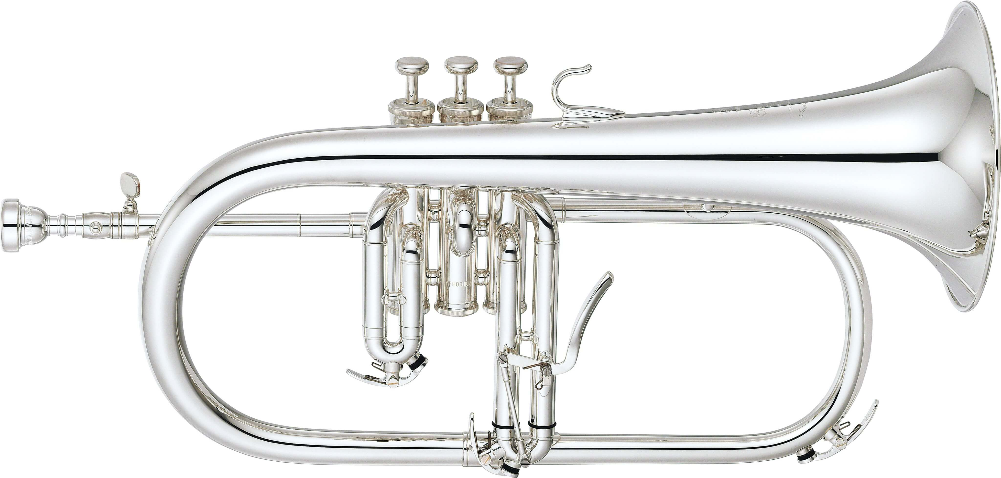 Fliscorno Yamaha YFH-8310ZGS Plateado