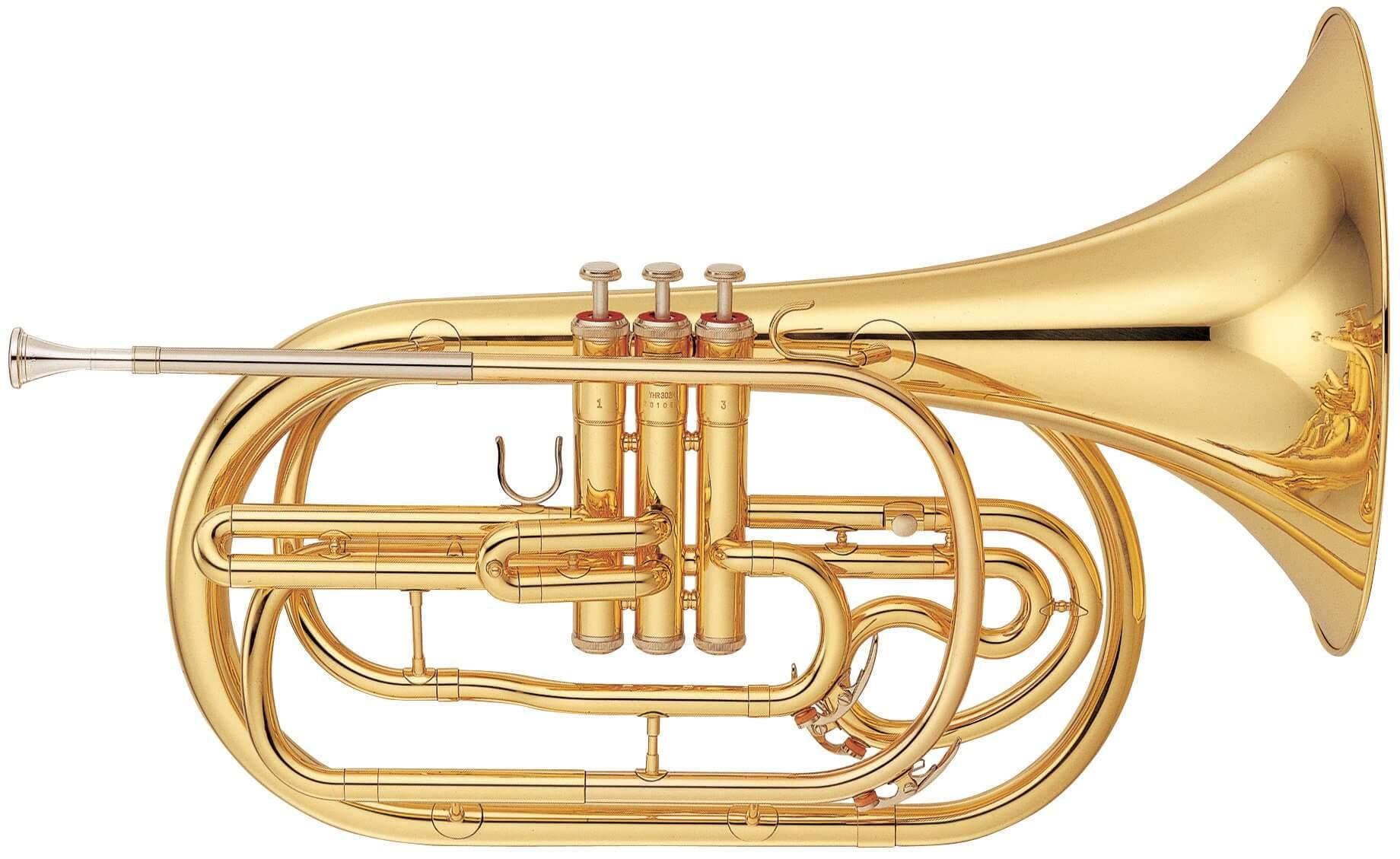 Trompa De Marcha Yamaha Yhr 302M Lacada