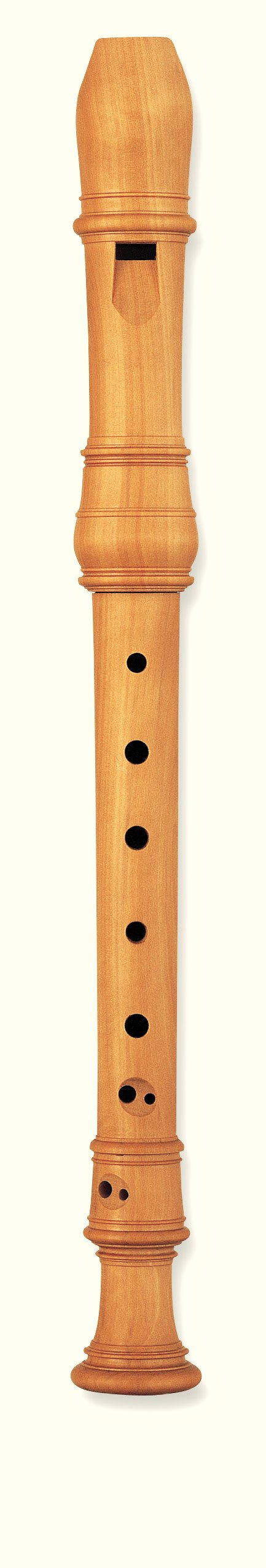 Flauta Sopranino Barroca En Fa Yamaha YRN-801 Boj