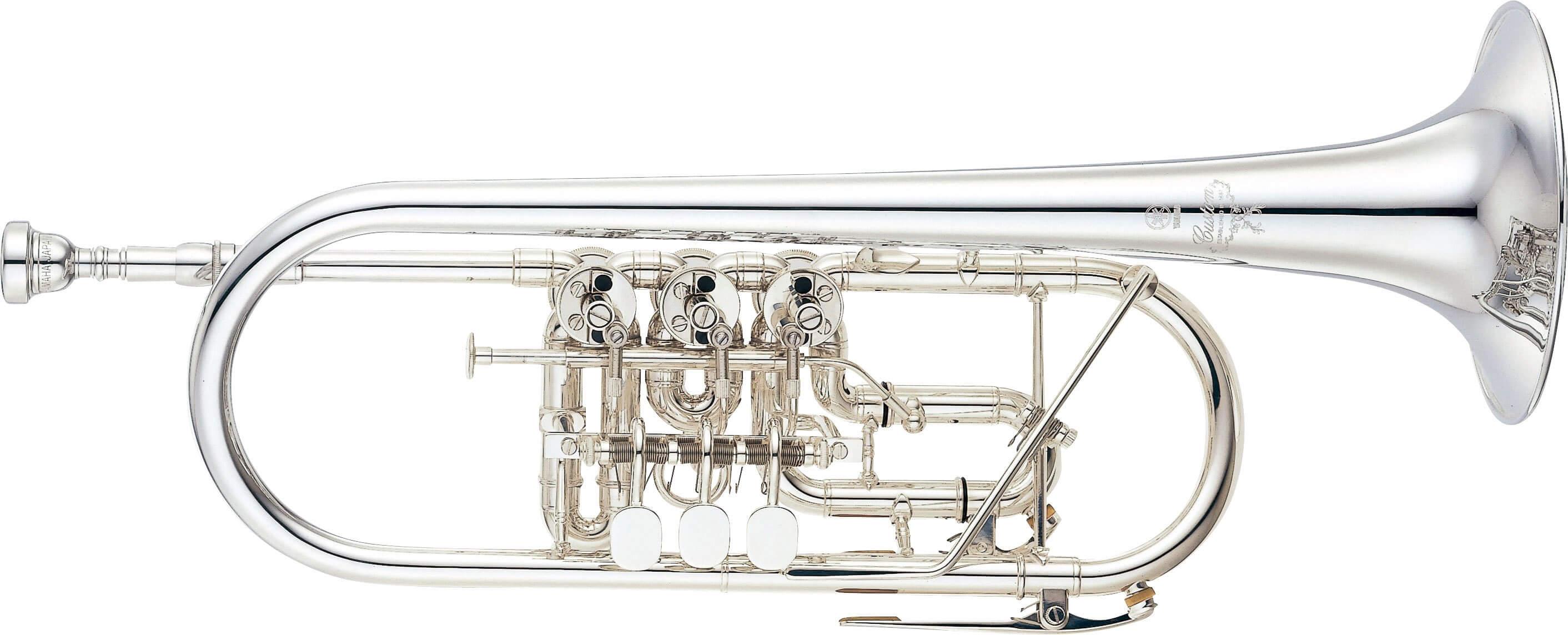 Trompeta Yamaha Ytr-948FFMGS Plateada