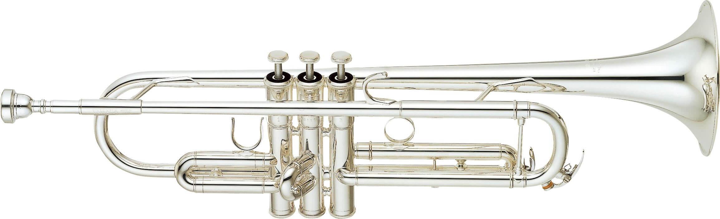 Trompeta Yamaha Ytr 6345Gs Plateada