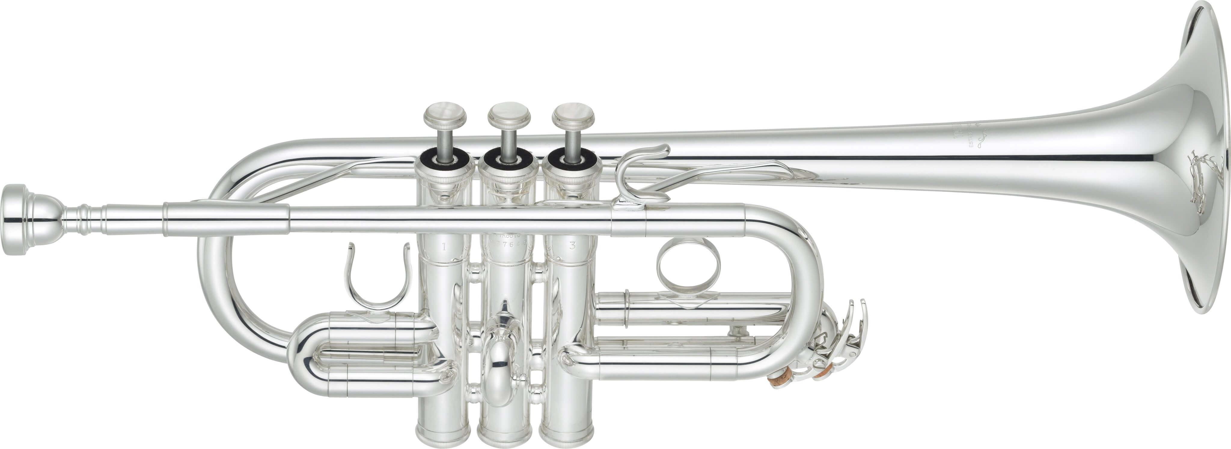 Trompeta Yamaha Ytr 6610S Plateada