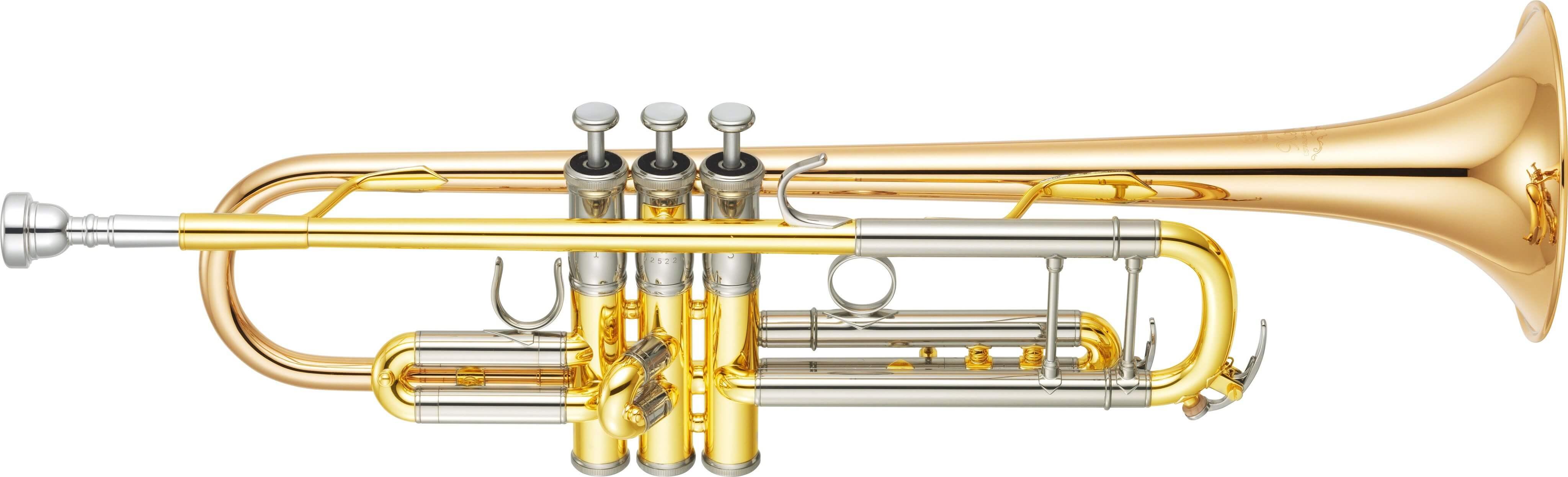 Trompeta Yamaha Ytr 8335G Plateada