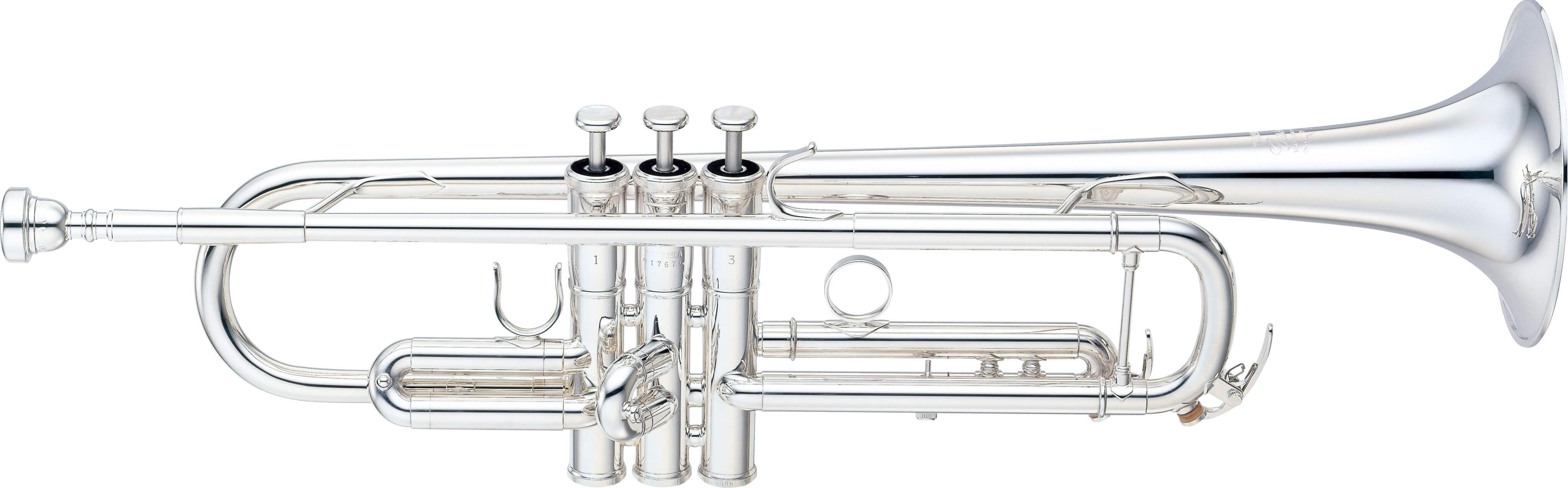 Trompeta Yamaha Ytr-8335LAS Plateada