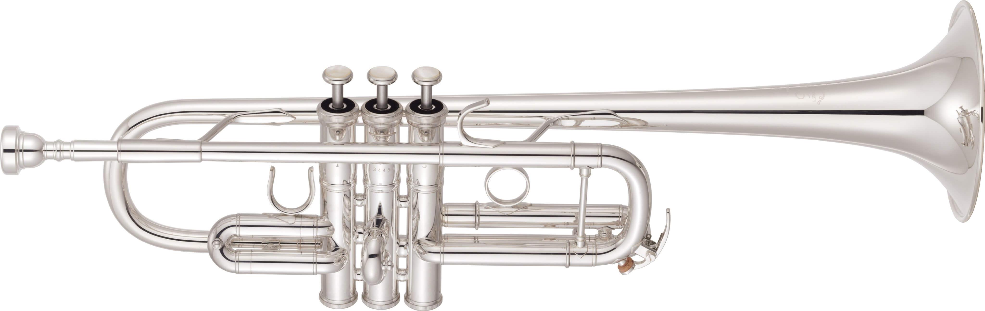 Trompeta en Do Yamaha Ytr-8445GS 04 Plateada