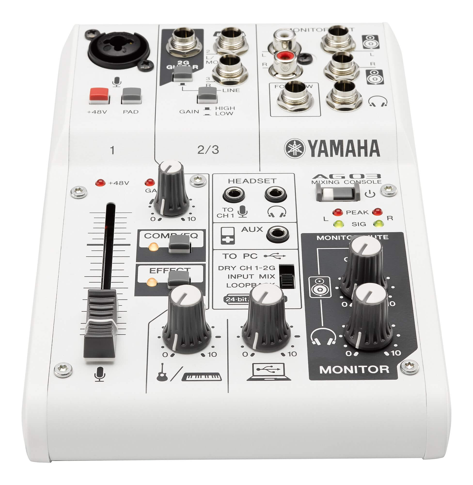 Interface 3 Canales Yamaha Audiogram AG03