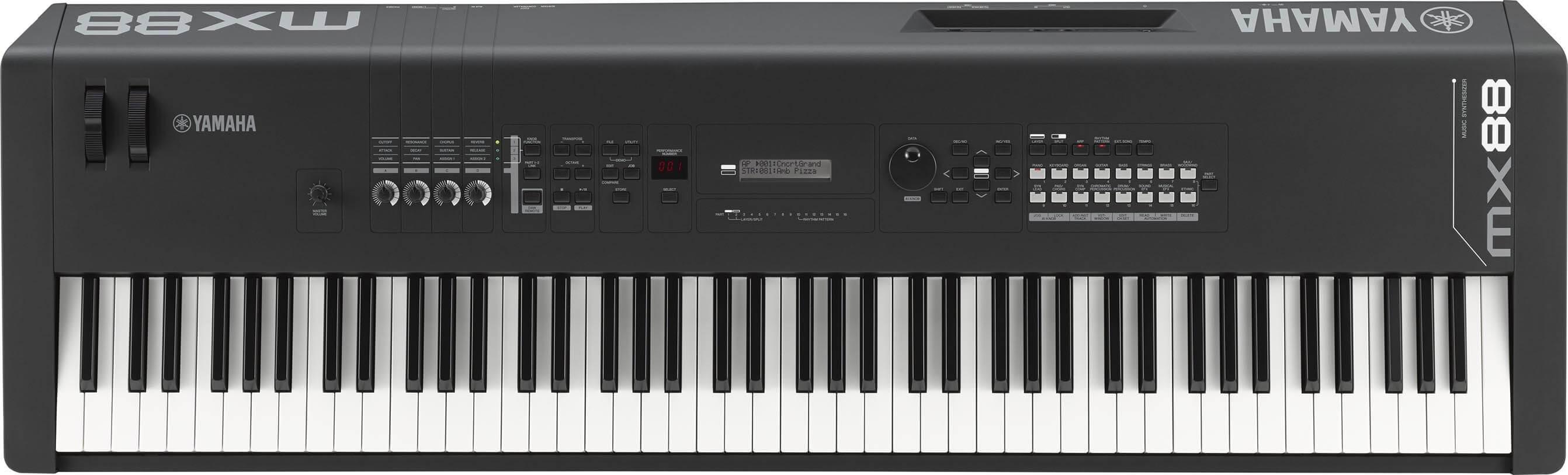 Sintetizador Yamaha MX88 Black