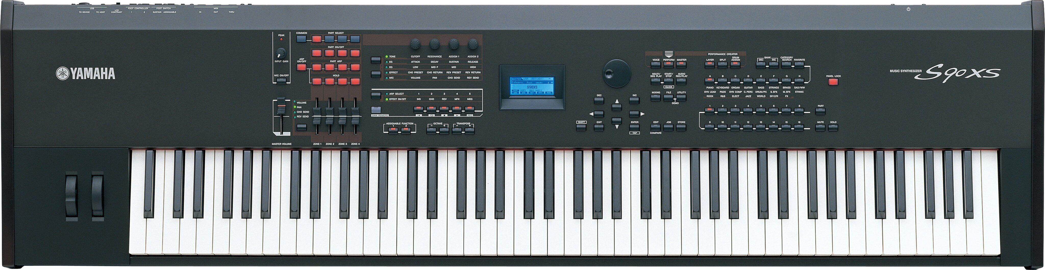Sintetizador Yamaha S90 Xs