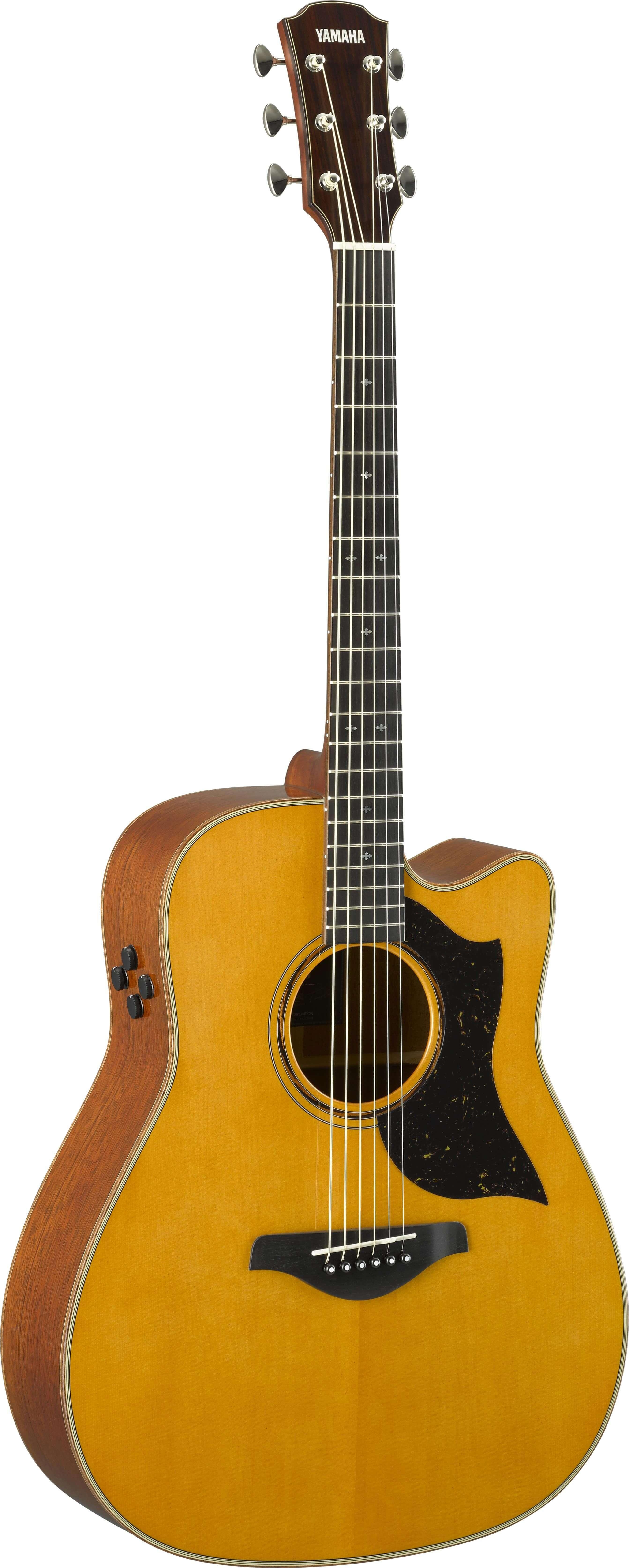 Guitarra Electroacústica Yamaha A5R Are Vintage Natural