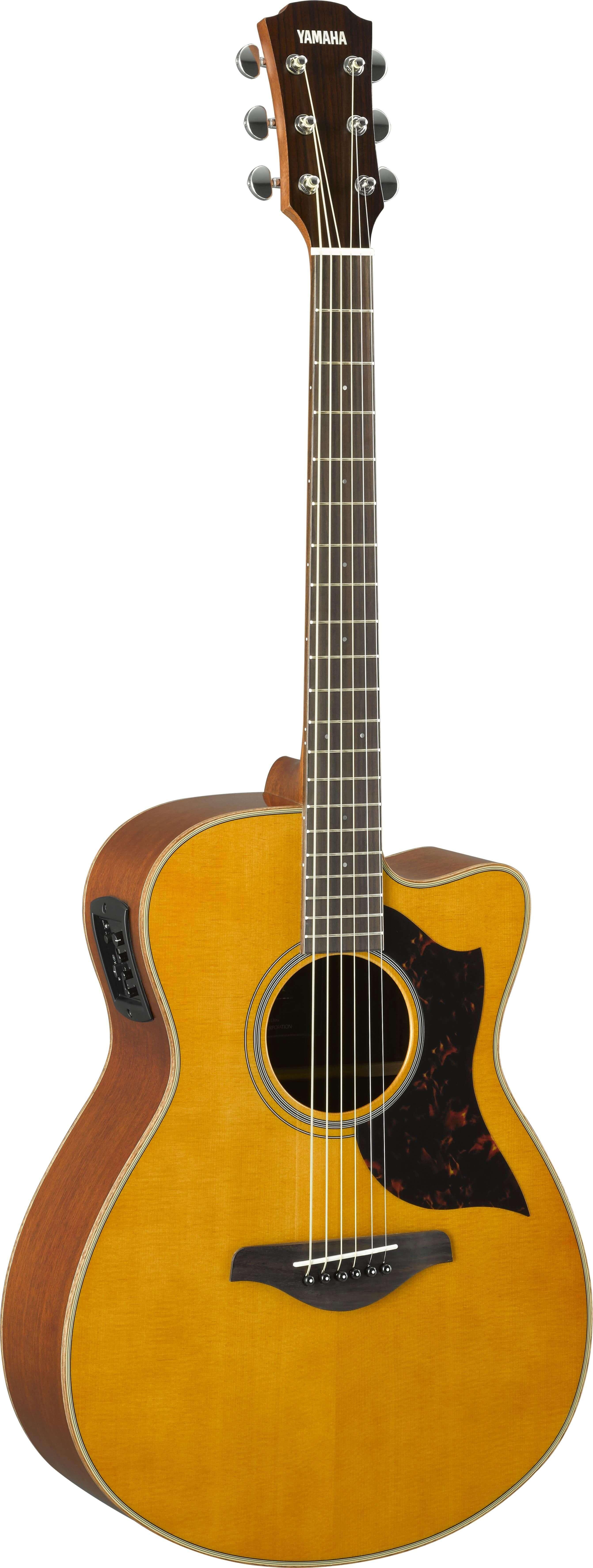 Guitarra Electroacústica Yamaha Ac1M II Tobacco Brown Sumbur