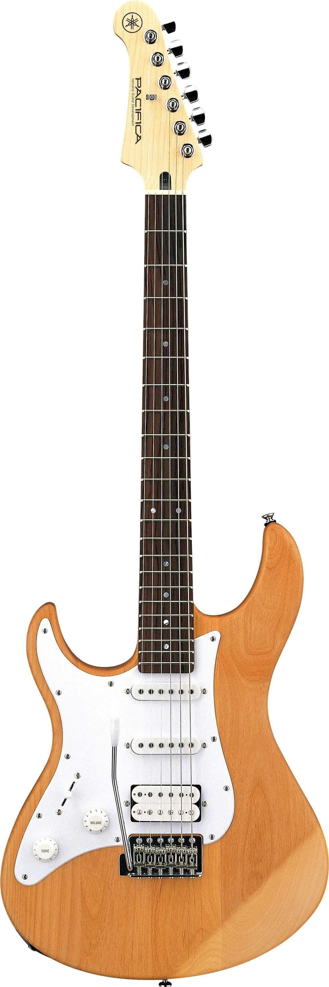Guitarra Eléctrica para zurdos Yamaha Pac 112JL YNS Yellow Natural Satin