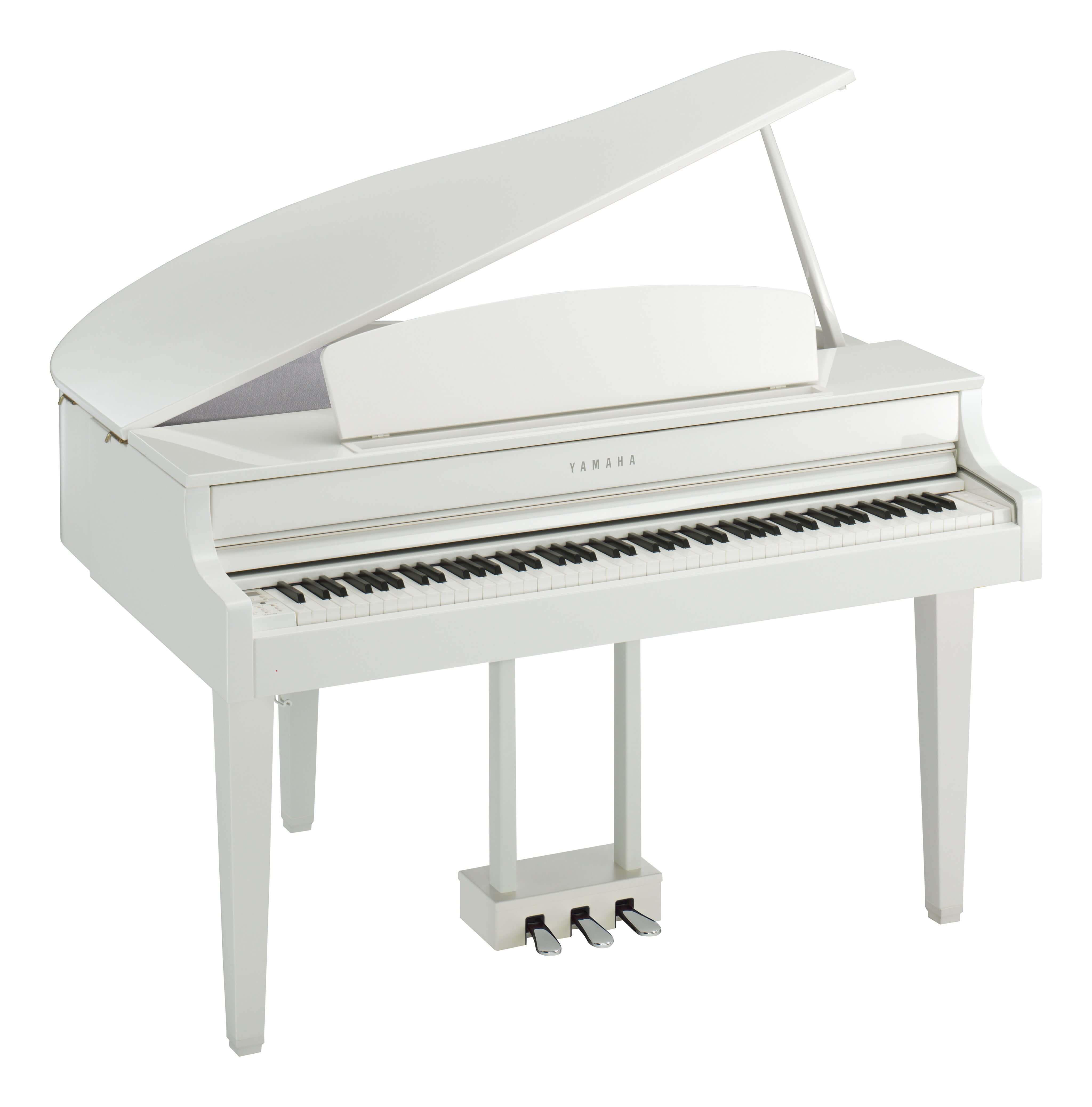 Piano Digital Yamaha CLP-665GPWH Blanco Pulido
