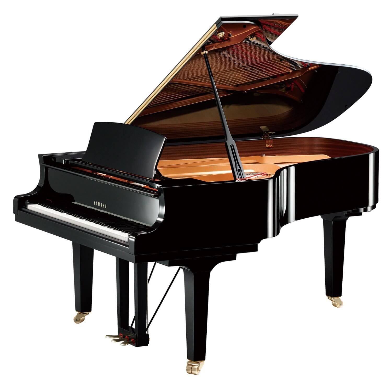 Piano De Cola Yamaha C6X Negro Pulido
