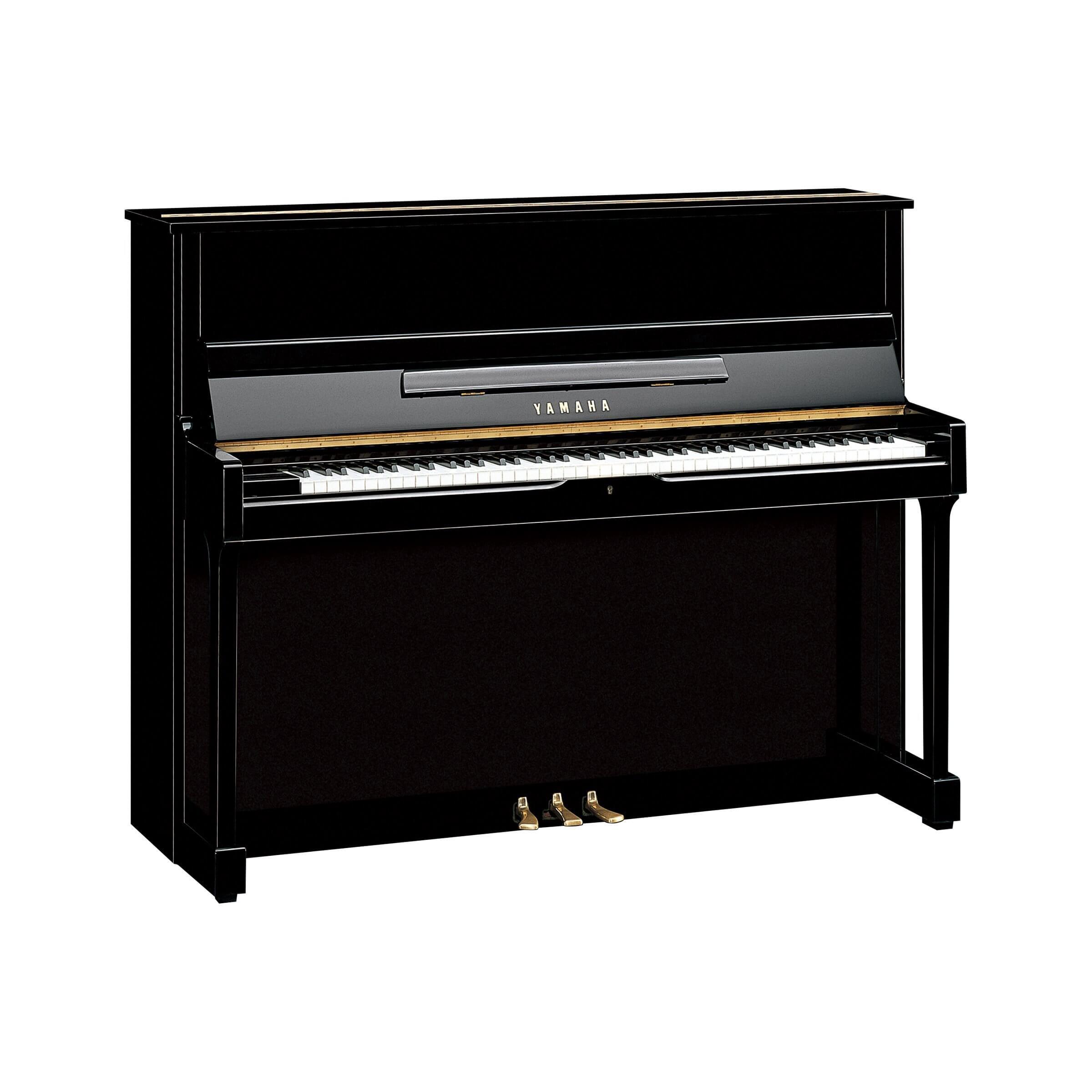 Piano Vertical Yamaha SU118 Negro Pulido