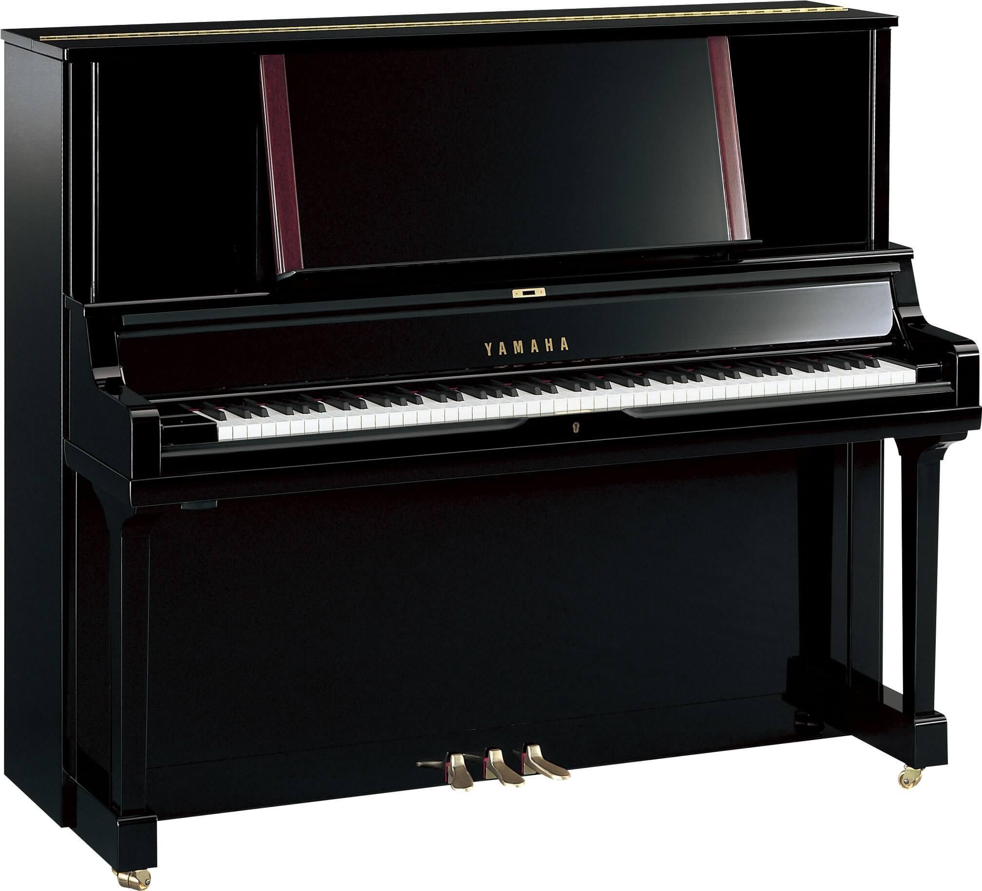 Piano Vertical Yamaha YUS5 Negro Pulido