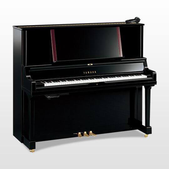 Piano Vertical Yamaha YUS5 SH2 Negro Pulido