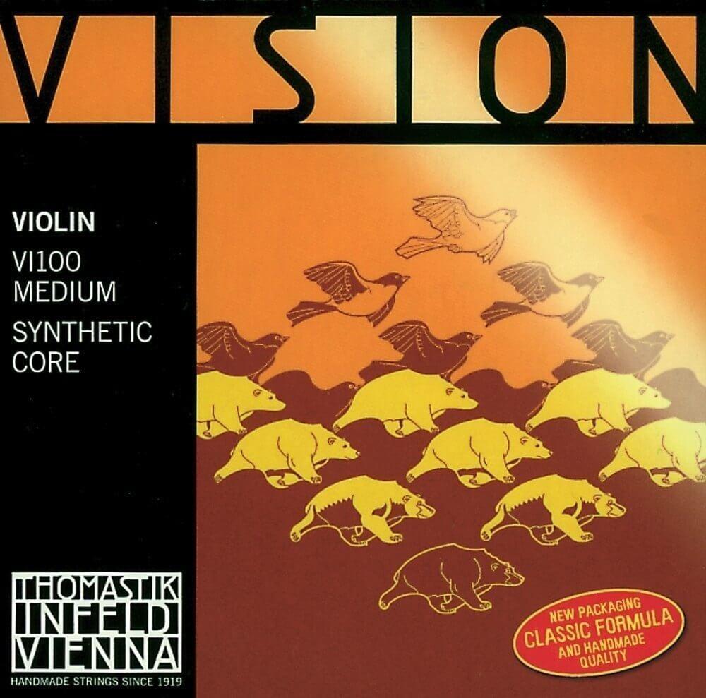Jgo.Cuerdas Violín Thomastik Vision Vi100 4/4