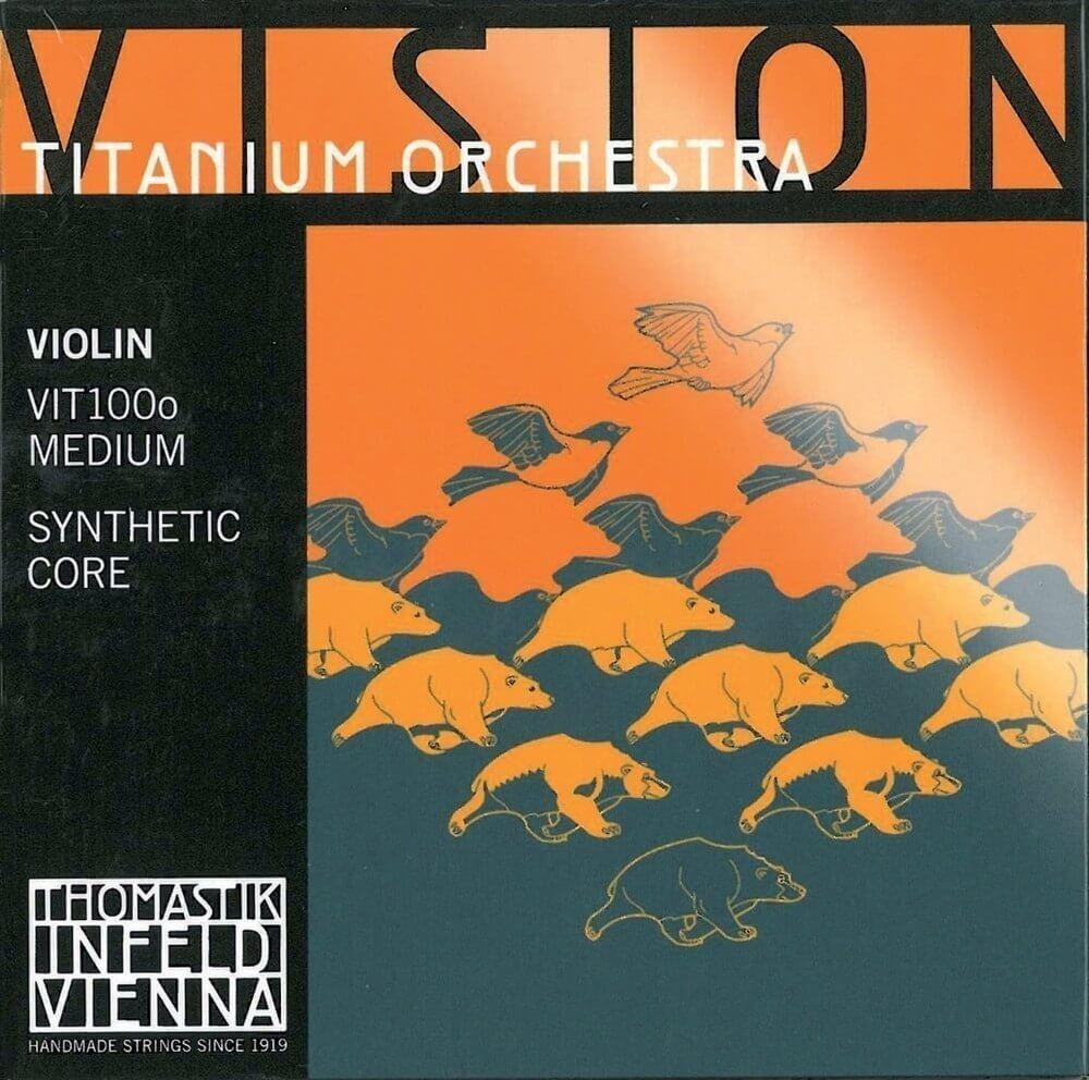 Cuerda 3ª Violín Thomastik Vision Titanium Orchestra Re Vit0