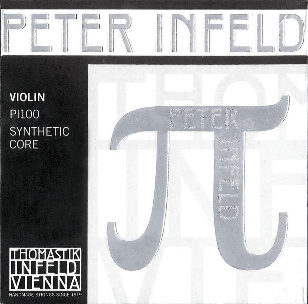 Juego Cuerdas Violín Peter Infeld PI101. Mi Estaño