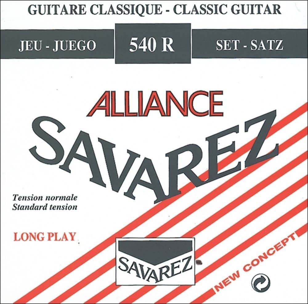 Cuerda 3ª Guitarra Clásica Savarez Alliance Sol 543R Medium