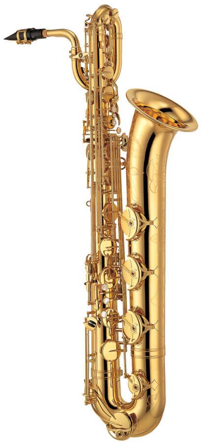 Saxofón Barítono Yamaha Ybs 62Se Plateado