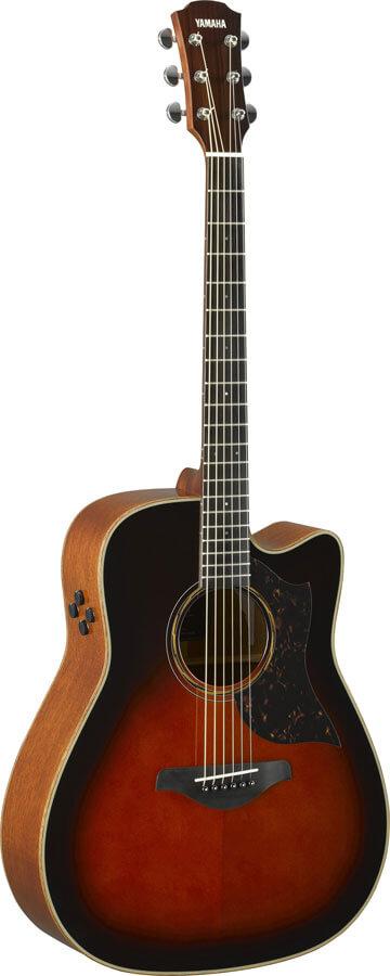 Guitarra Electroacústica Yamaha A3M Are Tobacco Brown Sumbur