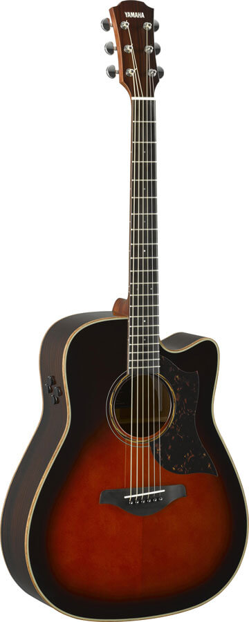 Guitarra Electroacústica Yamaha A3R Are Tobacco Brown Sumbur