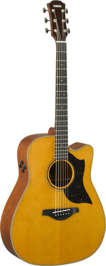 Guitarra Electroacústica Yamaha A5M Are Vintage Natural