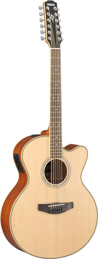 Guitarra Electroacústica Yamaha CPX 700II-12 Cuerdas  Natura