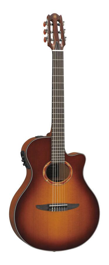 Guitarra Electroacústica Yamaha Ntx700C Ntx700C Brown Sunbur