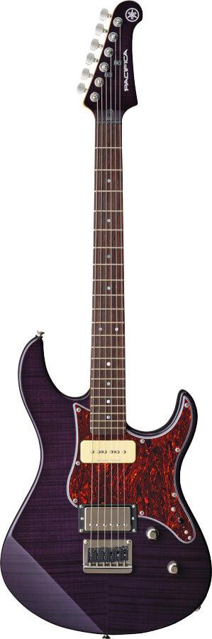 Guitarra Eléctrica Yamaha Pacifica611Hfm Trl Purple