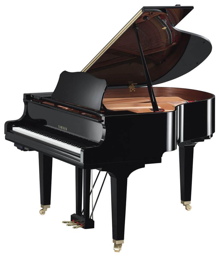 Piano De Cola Yamaha GC1TA Negro Pulido
